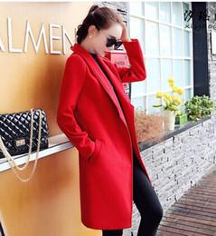 Wholesale Girls Quality Wool Coat - New Arrival Hot Sale Fashion Noble Female Winter Korean High Quality Winter Woolen Coat Lovely Girl Must Have Thick Slim Female Casual Coat