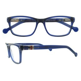 Wholesale Online Frame - new fashion style top quality men women red black blue rectangle full rim online wholesale eyewear