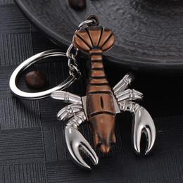 2019 cuchillos hechos a medida A medida clave de langosta Cadena creativa del cuchillo de bolsillo clave llavero anillo llavero herramienta al aire libre Pilgrim cuchillos hechos a medida baratos