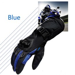 Wholesale Knight Rider Motorcycle - Winter Motorcycle Gloves Waterproof Warm Four Seasons Racing Rider Knight Fallhated Gloves Summer Men and Women