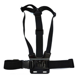 Wholesale Bags For Tripods - for Gopro Accessories Adjustable Chest Strap Belt Body Tripod Harness Mount For Gopro Hero 5 4 3+2 1 SJCAM Xiaomi Yi Camera Accessories