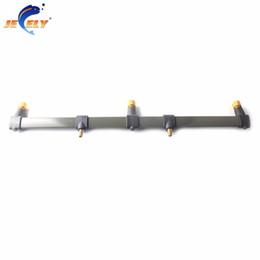 Wholesale Carp Alarms - Wholesale- 30cm and 50cm Carp Fishing Buzz Bar rod rest Fishing Rod Holder for 3 bite alarms