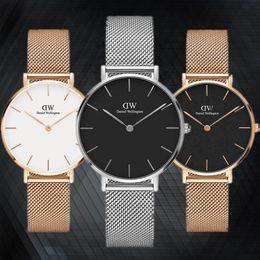 Wholesale Sweden Female - 2017 Sweden Top Famous Brand Luxury Women Watches Casual Quartz Watch Female Ladies Watch steel strap Wristwatches montre femme relojes