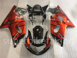 Wholesale orange gsxr fairings - 3 free gifts New Hot ABS Injection motorcycle Fairing kits 100% Fit For Suzuki GSXR K1 600 750 01-03 GSXR K1 600 750 2001 2002 2003 Orange