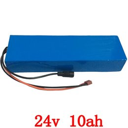 Wholesale Electric Bicycle Motor 24v - 24v 10ah lithium electric bike battery 24v 10ah battery pack li-ion for bicycle 24v 350w e bike 250w motor with 15A BMS +Charger