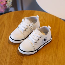 Wholesale Black Baby Feet - 2017 New Spring Canvas Children Shoes Baby Breathable Sport Shoe Boys And Girls Not Smelly Feet Soft Chaussure Kids Sneakers
