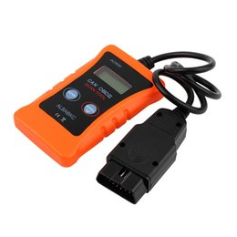 Wholesale Universal Diagnostic Codes Car - Wholesale- Universal AC600 LCD OBD2 CAN BUS Car Fault Diagnostic Scanner Code Reader scan tool