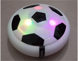 Wholesale Gift Items For Children - 2017 Newest Electric Suspension Football soccer ball With Colorful Light Air Soft Leisure Sport Toys Educational Toy For Children Gift