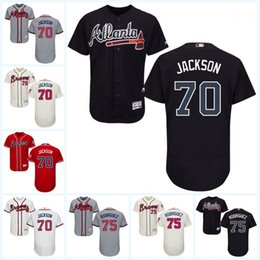 Wholesale 2017 Atlanta Braves Jersey Luke Jackson Paco Rodriguez Luke Jackson Flexbase Onfiled Jersey