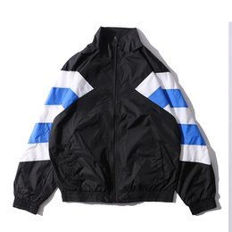 Argentina Color Block Inside Net Double Layer Chaqueta de los hombres 2017 Otoño Patchwork Chaquetas de Estilo Delgado Hombres 7161OU cheap double layer jacket Suministro