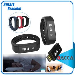 Wholesale Smart Plus - Excelvan I5 Plus Smart Bracelet Bluetooth 4.0 Waterproof Touch Screen Fitness Tracker Health Wristband Sleep Monitor Smart Watch