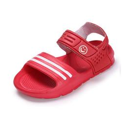 Deutschland Kinder Sommer Sandalen Jungen Strand Schuhe Mädchen Bonbonfarben Sandalen süß lächelndes Gesicht Sandalen Versorgung