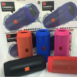 Wholesale Charge Plus Wireless Bluetooth Speaker Mini Portable Speakers Support U disck TF Card Colorful Best Quality Charge2