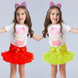 Wholesale Skirts Formal Dance - Hooyi Baby Girl Mini Skirts Children Tutu Dress Skirt Yarn Ball Gown Solid Fashion Casual Formal Dancing Skirt Kid Ballet Dresses Underskirt