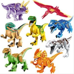 Wholesale Build Dinosaur - Building Blocks Compatible With Lepin bricks ComSuper Jurrassic World Dino World Dinosaur Model Lepin Bricks Assemble Toy