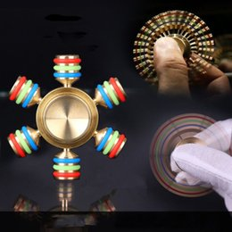 Wholesale Focus Diy - New Spinner Fidget Special Type Hot Toy EDC Hand Finger Spinner Desk Focus DIY With Retail Box