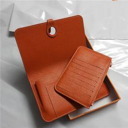 Wholesale Genuine Leather Handbag Clutch - M109 Genuine leather card holder clutch purse women wallet handbag brand designer free shipping fashion luxury promotional discount