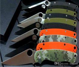 Wholesale Gift Samples - 8 models SPider back lock camping knife Hunting Folding Pocket Knife Xmas gift KNIFE 1pcs sample freeshipping