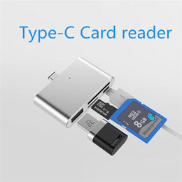 Wholesale China Converter - Hub USB 3.0 Type C Adapter Multiport Converter OTG Memory Card Reader to USB TF SD  Micro USB for Phone Computer Macbook