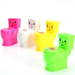 Wholesale Tricky Toilet Toy - Funny Water Spray Toilet Tricky Toys Novelty Spoof Gadgets Toys For April Fool's Day Children Gifts