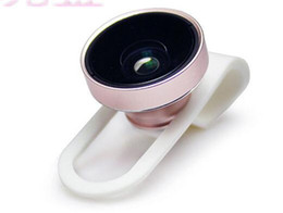 Wholesale Detachable Wide Angle Lens - Wholesale detachable High Clarity 2 in 1 0.65X Wide-angle Lens Telephoto Camera For iPhone 5s 6 7 7plus