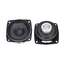 2019 ohms áudio Atacado- 2pcs Full Range Audio Speaker Novo ímã de neodímio 8 ohm 10 W altifalante desconto ohms áudio