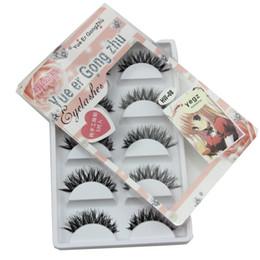 Wholesale Eyelashes Pairs - 5 Pairs Makeup Handmade Natural False Eyelashes Soft Eye Lash Cosmetic Makeup Extension Tools Cosmetic 2017