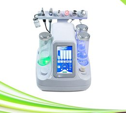 Wholesale Crystal Facial Machine - 6 in 1 oxygen jet skin care crystal microdermabrasion machine facial cleansing instrument microdermabrasion