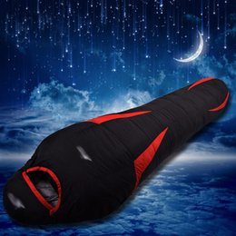 Wholesale Filling Equipment - Wholesale- Filling duck down 600g 800g 1000g 1200g Winter Outdoor Sport Windstopper Camping Equipment Adult Water Resistant Sleeping Bag