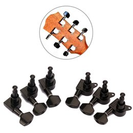 Wholesale Tuners Knob - A Set 6 pcs Sealed Guitar String Tuning Pegs High Quality Tuners Machine Heads For Electric Acoustic Guitar Parts & Accessories