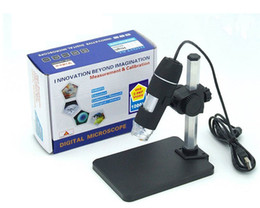 Wholesale Usb Microscope Software - 100pcs 2.0MP 8-LED Endoscope with Measurement Software 1000x USB Digital Microscope Endoscope Camera Microscopio Magnifier