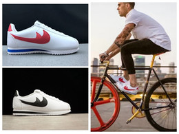 Wholesale Soccer Football Net - 2017 New Arrival Classic Cortez Running Shoes Male and Female Casual Shoes Racer Cortez Leisure Nets Shoe for Men Women size 36-44