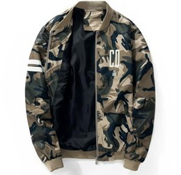 Wholesale Casual Spring Military Jacket Men - Men Baseball Jacket Bomber Jackets Military ma1men Jacket Spring autumn kanye west Coat Army Clothes Camouflage Jackets