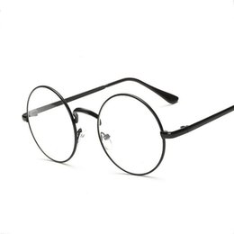 Wholesale Nerd Glasses Clear Frames - 2017 retro oversized eyewear nerd clear lens optical frame quality acetate oculos vintage men women round glasses frame