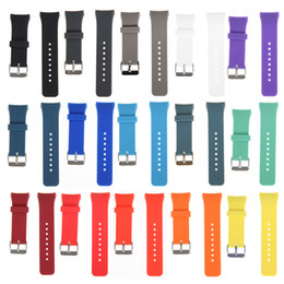 Wholesale Banded Gear - Strap width 20mm Luxury Replacement Silicone Watch Band Stylish Silicone Replacement Strap For Samsung Galaxy Gear S2 SM-R720 Good Quality