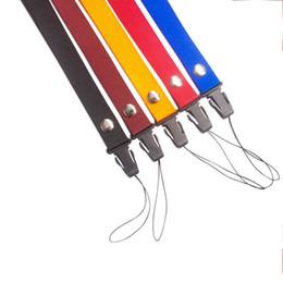 Etiquetas universales online-Cordón Universal Desmontable Moda Cuello Cuerda de Nylon Cuerda Etiqueta Cuerda Cuerda Remache Hebilla Cinturón de Teléfonos Celulares 0 8wf F R