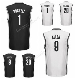 Wholesale Dry Printing - 2017 Latest 20 Timofey Mozgov Jersey Men Printed 9 Jarrett Allen 1 D Angelo DAngelo Russell Basketball Jerseys Team Black White High Quality