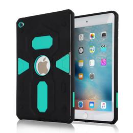 Wholesale Gold Ipad Mini Case - Armor Hybrid TPU PC Hard Case Shockproof case For huawei p9 p8 ipad mini 2 3 4 case