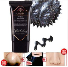 Wholesale Best Deep Cleansing Facial - Best selling ONE1X Blackhead Facial Mask Deep Cleansing Black MASK 50ML vs Shills Peel-off Face Masks free shipping