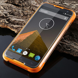 Wholesale Dual Sim Android Ip67 - Blackview BV5000 IP67 Waterproof Shockproof Dustproof Rugged Android 5.1 64-Bit Quad Core MTK6735 2GB 16GB OTG 13MP Camera 5.0 Smartphone