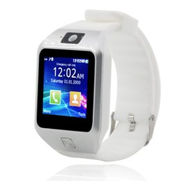 Wholesale Kid Watches China - China supply call phone watch epaper wifi watch dz09s sim card bluetooth smart phone watch 128M+64M meory standby time up to 180hours