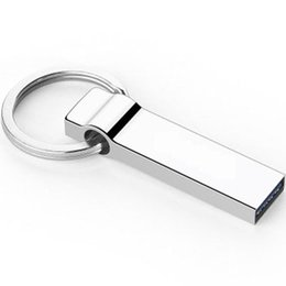 Wholesale Steel Stocks - Metal Mini USB Flash Drives 8G 16G 32G 64G USB2.0 Memory Sticks Stainless Steel Pen Drives