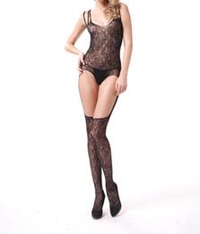 Wholesale Body Stocking Open - Lady Body Stocking Women Sexy Lingerie Women Hot Erotic Open Bra Lingerie Sexy Costumes Underwear Sleepwear Bodystocking