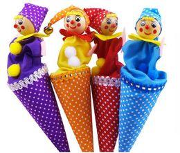 Clown pop up marionnette bâton télescopique poupée Hide And Seek enfants enfants activité amusante jouets couleurs assorties ? partir de fabricateur