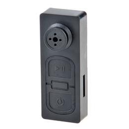 Wholesale Free Audio Recorder - HD Mini Button DV S918 Mini Portable Camera Cam Button Camera Video Audio Recorder Security DVR Digital Camcorder Free Shipping
