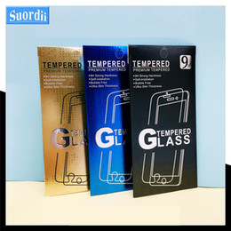 Wholesale Universal Papers - Empty Screen Protector Retail Package Paper Boxes Display Packaging for Premium Tempered Glass 9H 2.5D For iPhone 5 6 7 Plus