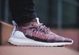 Wholesale Nipple Out - Top quality popular womens and mens Kith Ultra Boost Mid 1 Multicolor shoes with nipple top quality 2017 sneaker size 36-44 Free shipping