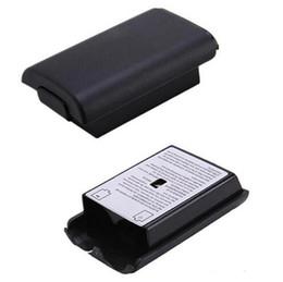 пыль ps4 Скидка оптовый крышка батарейного отсека для Xbox360 контроллер игровой консоли Крышка батарейного отсека для беспроводного контроллера Xbox 360
