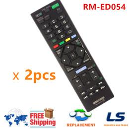 sony tvs Desconto Venda por atacado - Substituição Controle Remoto RM-ED054 RM-ED062 Fit Para Sony TV KDL-46R470A KDL-32R420A KDL-46R473A KDL-32R420A KDL-32R423A