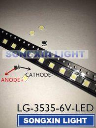 Wholesale Tv Repair Wholesaler - 300PCS FOR LCD TV repair LG led TV backlight strip lights with light-emitting diode 3535 SMD LED beads 6V